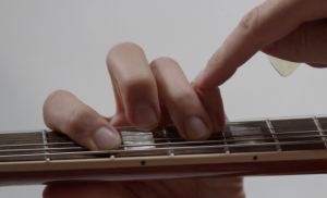 power chords on electric guitar